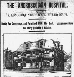 Berlin Independent 1/30/1895 p.1 Hospital appears to be current 649 First Avenue.