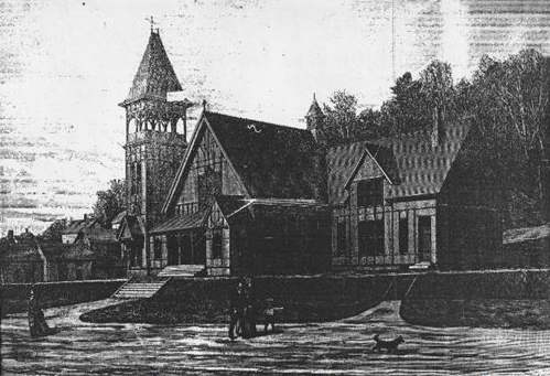 Congregational Church (1882) Francis Fassett and John Calvin Stevens, architects (Berling Reporter 11/26/1896)