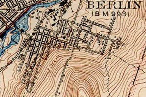 East Side Berlin USGS 1942