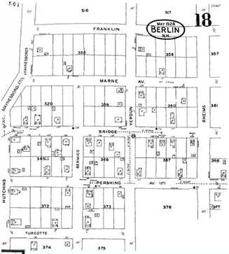 Street Map of Liberty Park (Sanborn 1920)