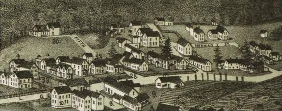 Norwegian Village (Norris 1888)